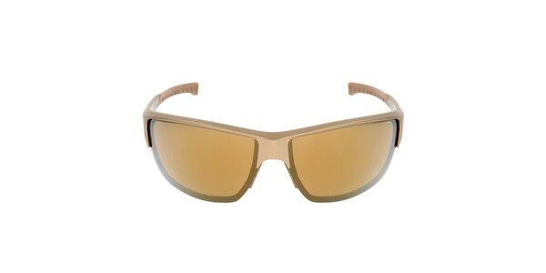 Zlaté plastové sluneční brýle Red Bull