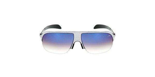 Kovové sluneční brýle s modrými gradientními sklíčky Red Bull