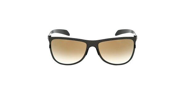 Černé karbonové sluneční brýle Red Bull