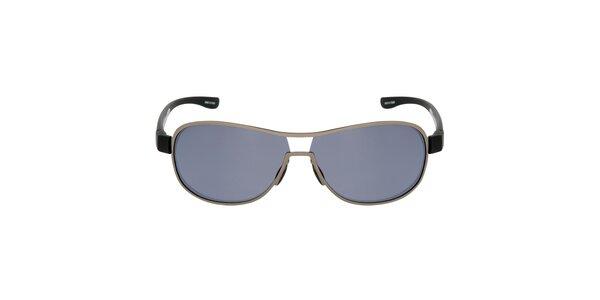Kovově stříbrné sluneční brýle Red Bull
