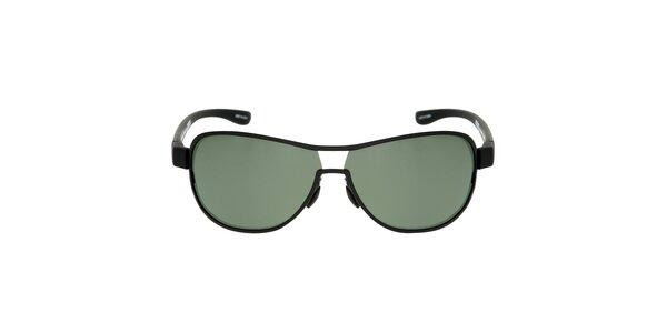 Černé kovové sluneční brýle Red Bull