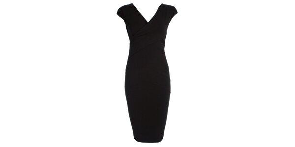 Dámské černé pouzdrové šaty JDC London