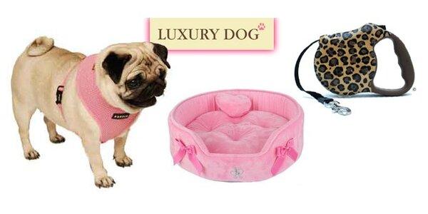 249 Kč za poukaz v hodnotě 500 Kč do luxusního psího butiku Luxury Dog.