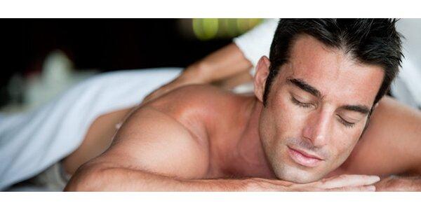 Tvrdá masáž pro muže - záda, šíje a ramena
