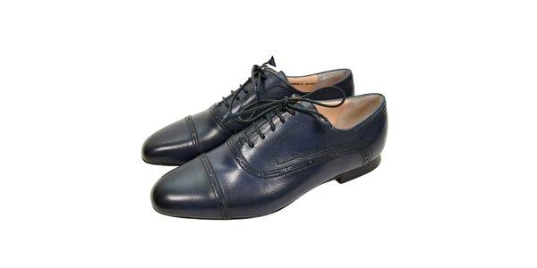 Luxusní dámské oxfordky v černé barvě značky Bally