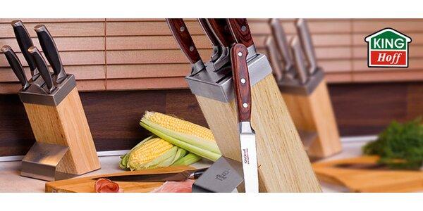 Sady nožů KINGHoff v dřevěném bloku