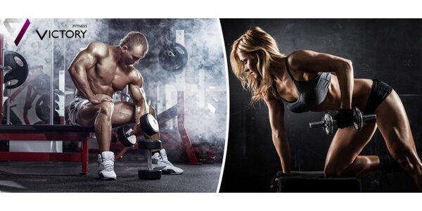 2 měsíční permanentka do Fitness Victory v Praze