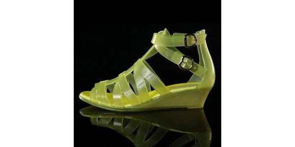 Dámské žluté sandálky Melissa