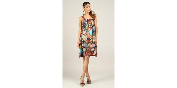 Dámské krátké barevné šaty Ziva