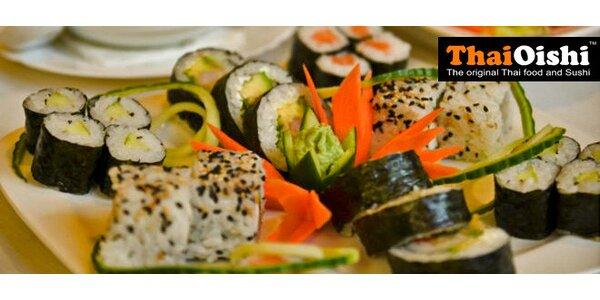 Sushi s sebou i ke konzumaci na místě v Thai Oishi