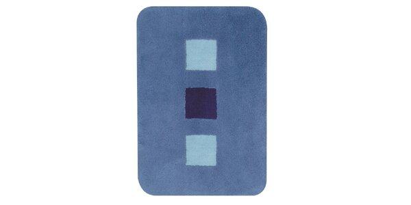 Koupelnová předložka SQUARE blue 60 x 90 cm