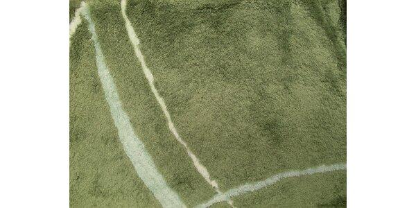 BMX Koupelnová předložka MERLIN LEAF GREEN 60 x 100