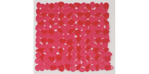Bezpečnostní předložka RIVERSTONE clear red 54 x 54 cm
