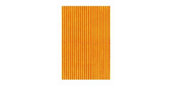 Koupelnová předložka DIZZY orange 60 x 90 cm