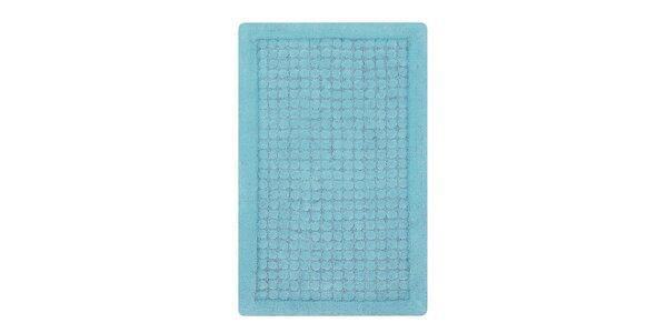Koupelnová předložka DOTS light blue 60 x 90 cm