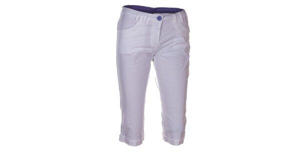 Dámské bílé 3/4 kalhoty Kilpi