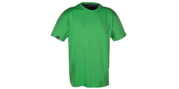 Pánské zelené triko s krátkým rukávem Kilpi