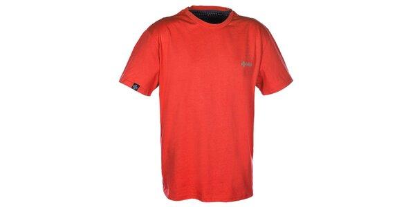 Pánské oranžové triko s krátkým rukávem Kilpi