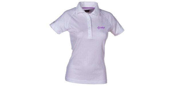 Dámské bílé technické polo tričko Kilpi