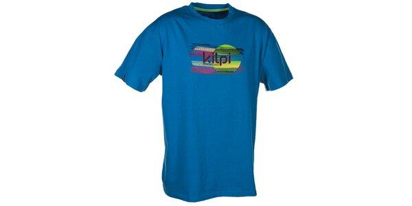 Pánské modré tričko s obrázkem Kilpi