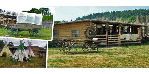 FORT HARY - návštěva pravé westernové pevnosti, indiánského muzea, srubu lovců…