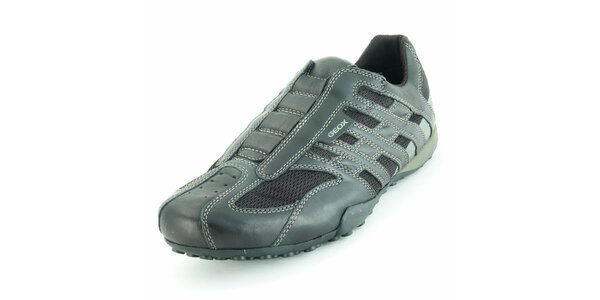 Pánské černé sportovní boty Geox