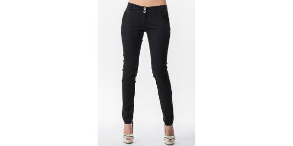 Dámské černé kalhoty Sixie