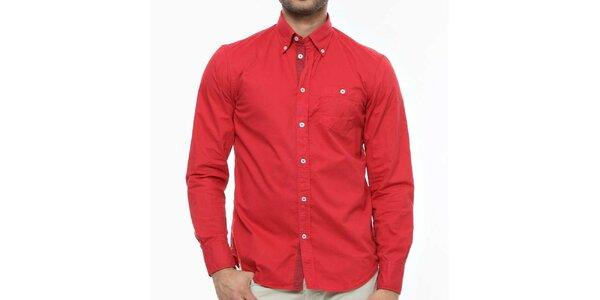 Pánská červená košile Nautica