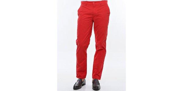 Pánské červené chino kalhoty Nautica