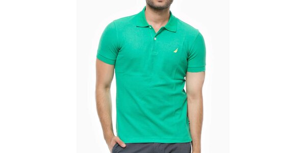 Pánské zelené polo triko Nautica
