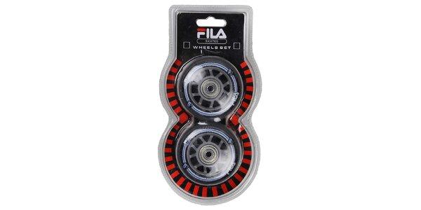 FILA Náhradní kolečka 72mm/82A+ABEC 5 Bearings+Nylon Spacer