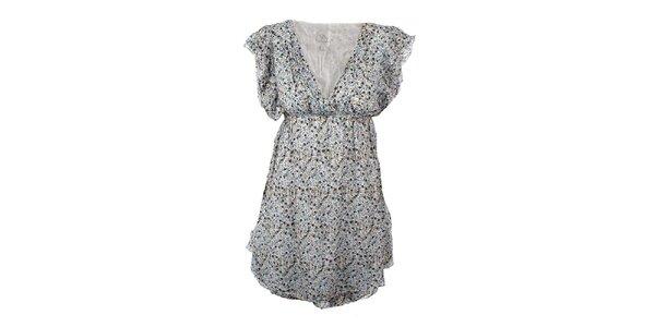 Dámské šaty s květinovým potiskem Dislay DY Design