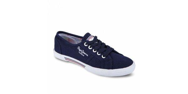 Dámské tmavě modré tenisky Pepe Jeans