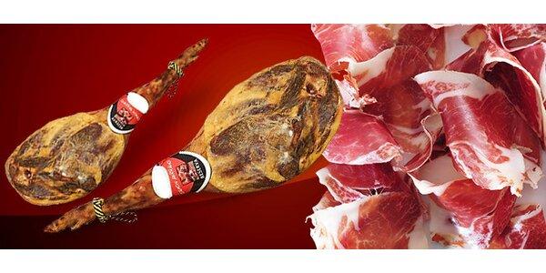6 kg španělské sušené šunky v dárkové sadě