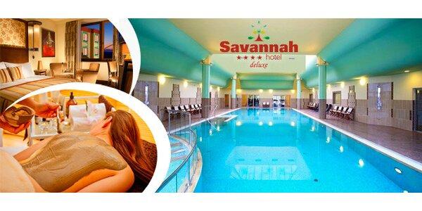 Luxusní dovolená v Hotelu Savannah**** na jižní Moravě