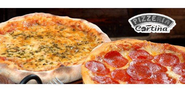 Jumbo pizza pro celou rodinu nebo partu
