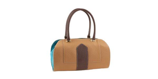 Dámská trojbarevná kufříková kabelka Valentina Italy