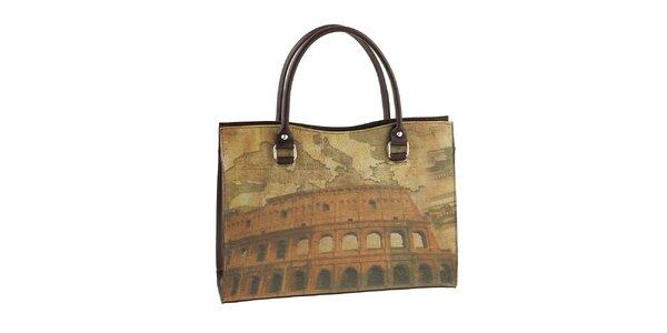 Dámská kabelka s potiskem Kolosea Valentina Italy