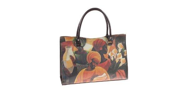Dámská kabelka s barevným potiskem Valentina Italy