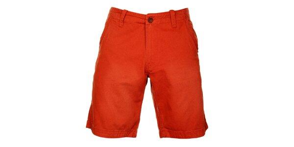 Pánské cihlově červené šortky Timeout