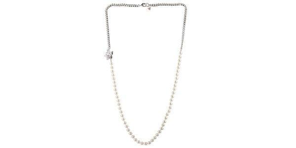 Dámský perlový náhrdelník Guess