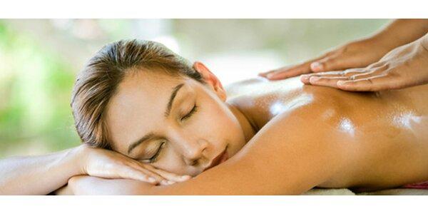 45 minutová celotělová relaxace, uvolnění a detoxikace. Kombinace masáže +…