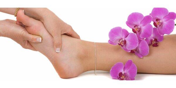 Kompletní wellness Vanilková pedikúra včetně masáže plosek nohou