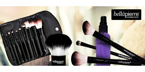 100% přírodní minerální kosmetika a štětce Bellápierre