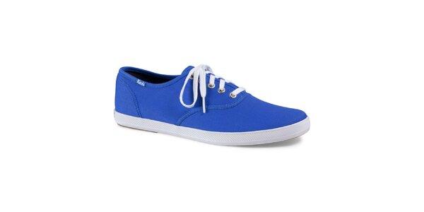 Pánské neonově modré plátěné tenisky Keds