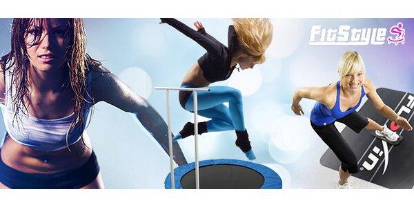 2 vstupy na jumping, piloxing, power jógu a jiná cvičení