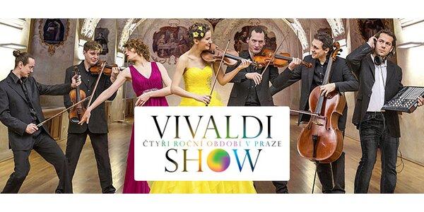 Vstupenka 1. kat. na multimediální Vivaldi Show