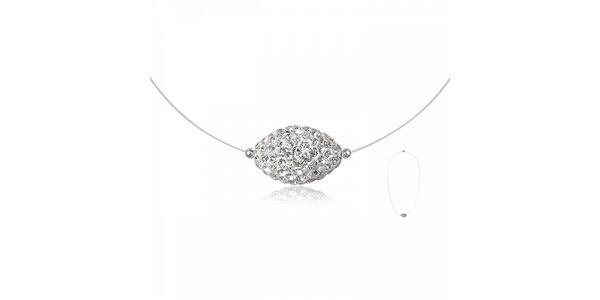 Dámský náhrdelník Miss Jones s korálkem