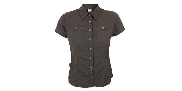 Dámská hnědá funkční košile Hannah
