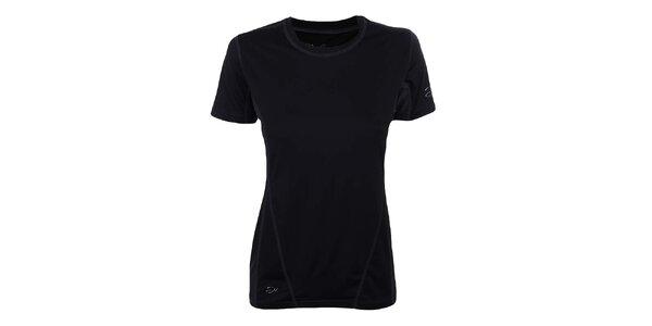 Dámské černé funkční tričko Hannah